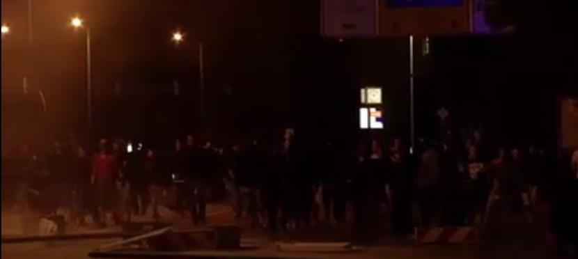 Nouvelles violences contre des Allemands dénonçant l'invasion à Heidenau
