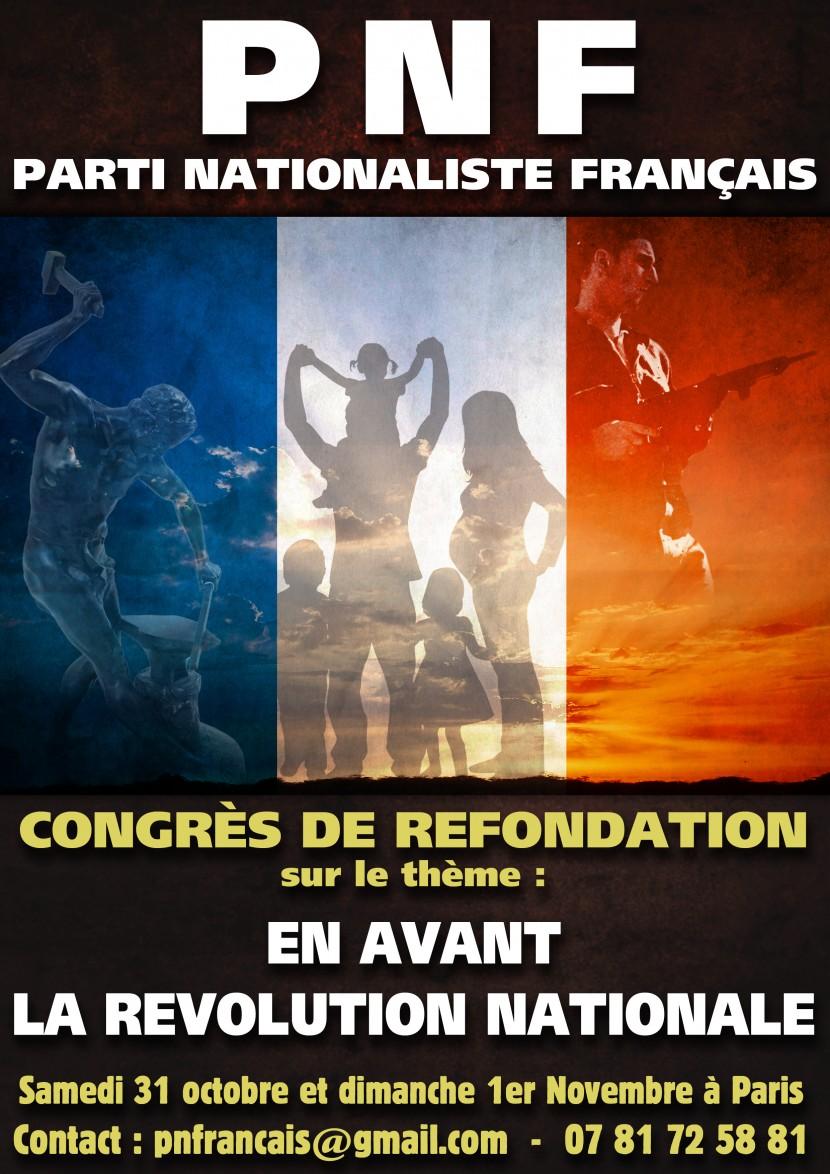 Congrès du Parti nationaliste français