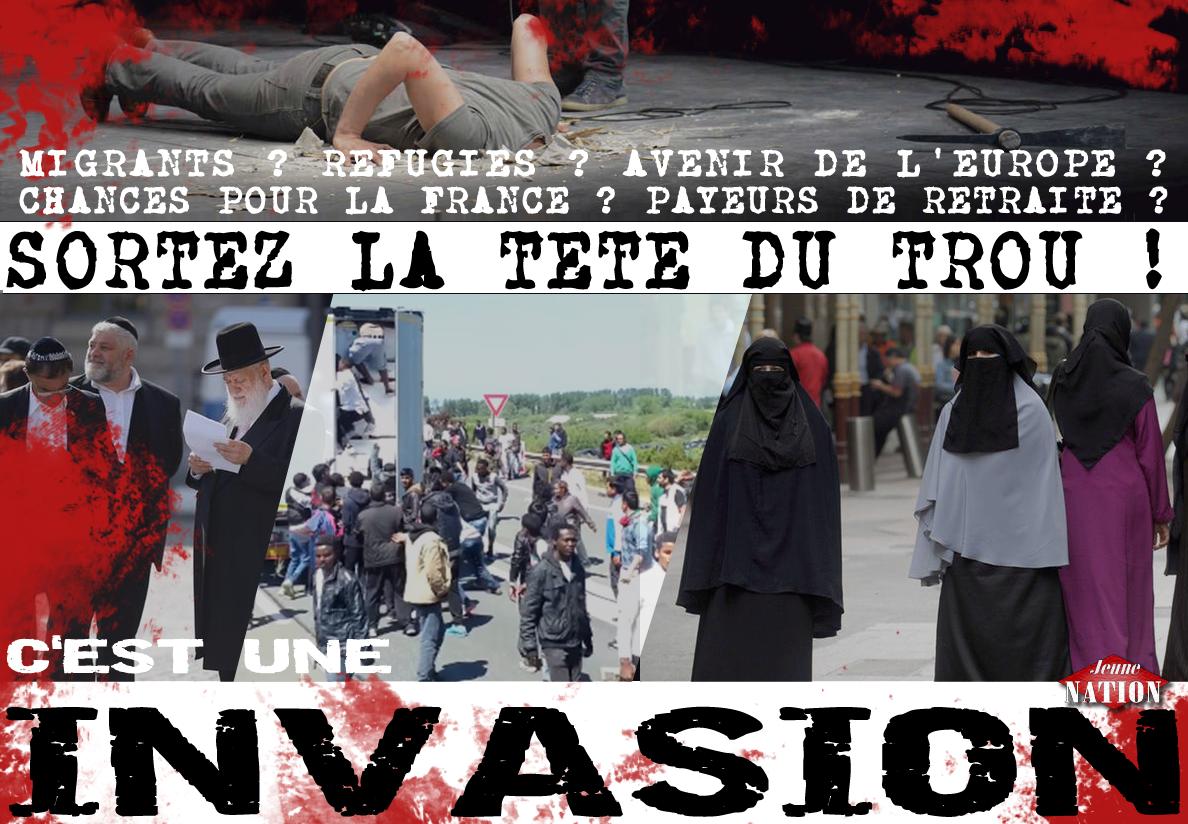 """Résultat de recherche d'images pour """"PHOTO INVASION MIGRANTS"""""""