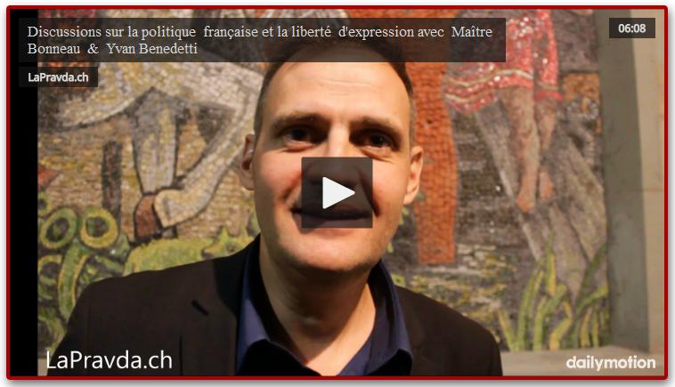 Discussions sur la politique française et la liberté d'expression avec Maître Bonneau & Yvan Benedetti
