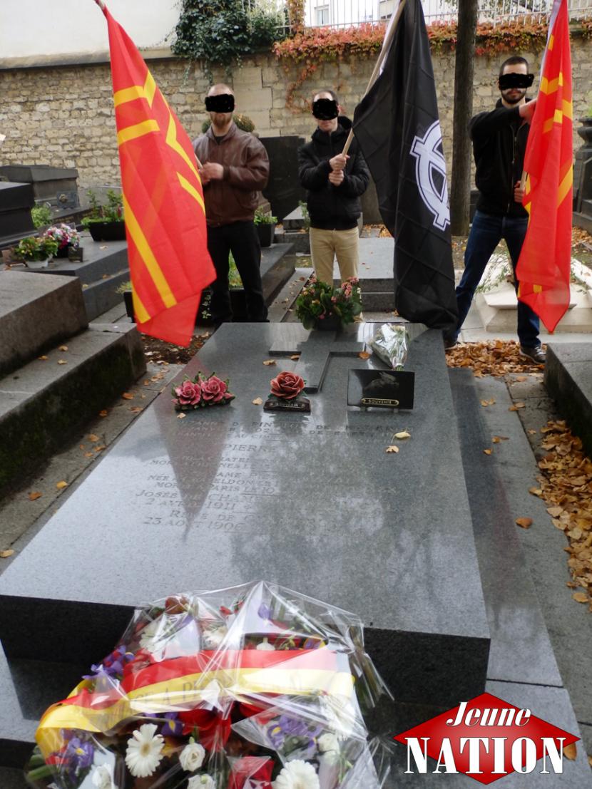 Hommage à Pierre Laval à Paris
