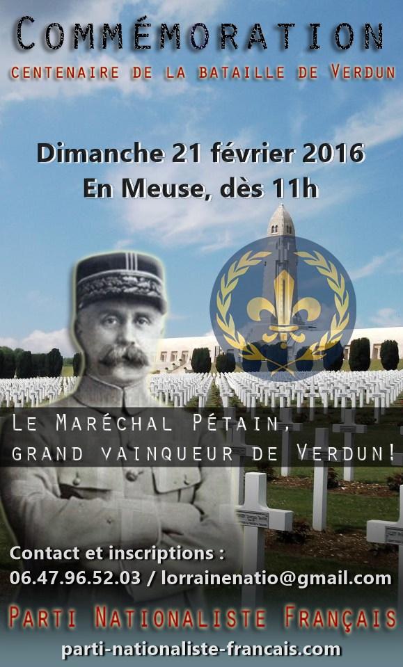 Meuse : Commémoration de la bataille de Verdun