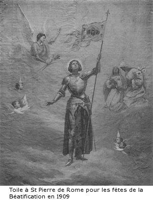 2 mars 1922 : Ste Jeanne d'Arc est proclamée patronne secondaire de la France