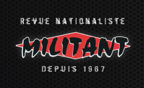 1er décembre 1967: Lancement par Pierre Pauty et Pierre Bousquet du journal Militant