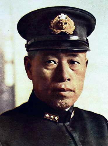 Amiral Isoroku Yamamoto   4 avril 1884  –  18 avril 1943