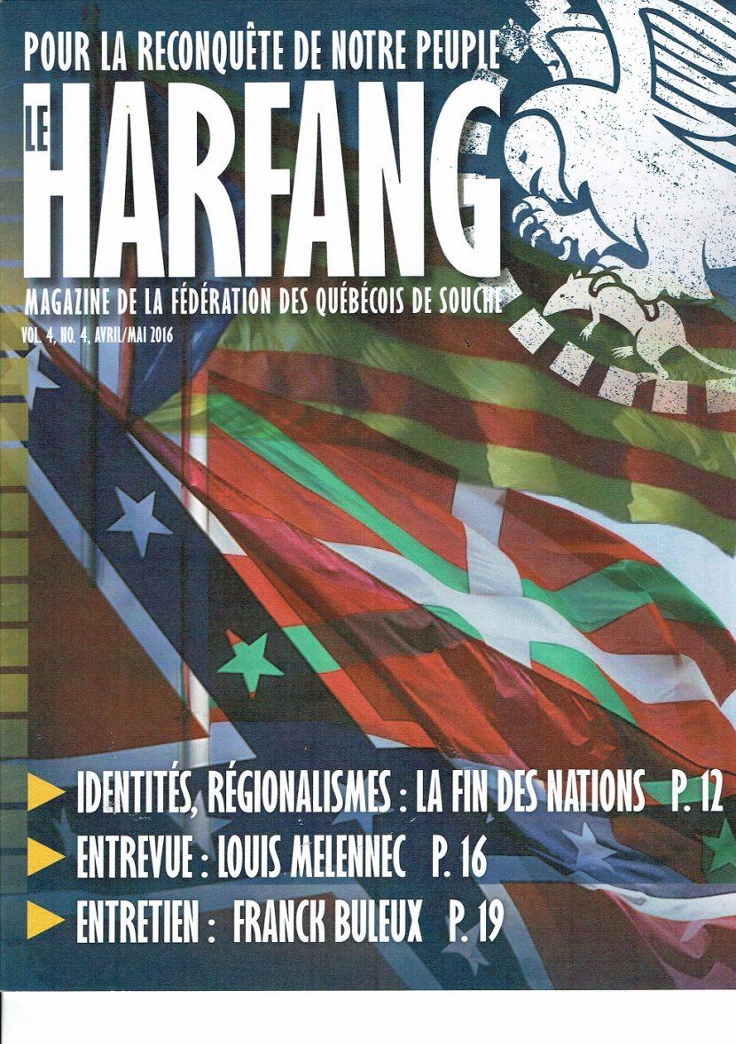 Le Harfang  Vol 4, n°4 avril/mai 2016