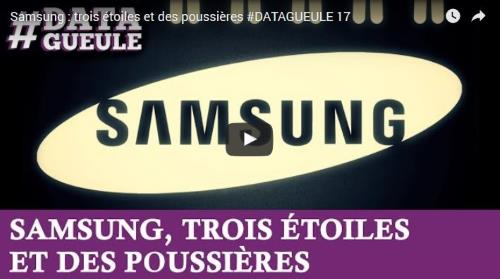 Samsung : trois étoiles et des poussières