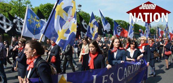 Hommage du P.N.F à Jeanne d'Arc – 8 mai 2016