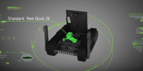 Une société israélienne lance le premier robot équipé d'un pistolet