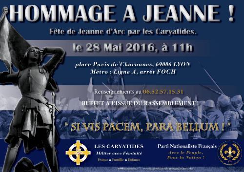 Les caryatides vous invitent le 28 Mai 2016 à Lyon