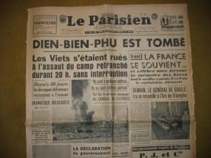 7 mai 1954 : fin de la bataille de Điện Biên Phủ