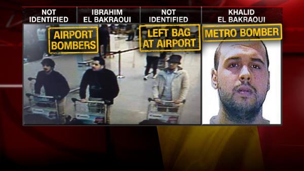 Belgique : un des kamikazes de Bruxelles arrêté puis relâché avant les attentats