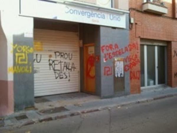 Espagne : 4 ans de prison requis pour quelques graffitis
