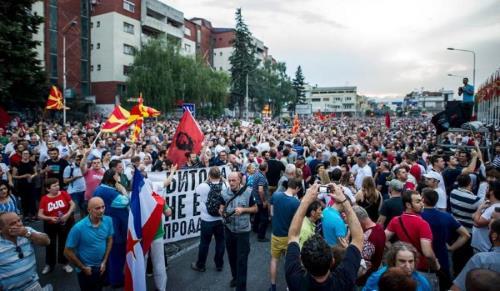 Macédoine : tentative de révolution de couleur