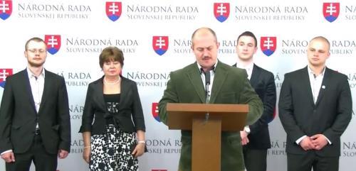Slovaquie : le LS-NS présente son premier projet de loi à l'Assemblée