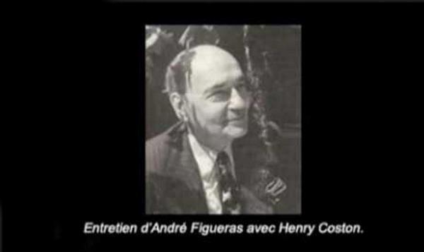 Entretien d'André Figueras avec Henry Coston