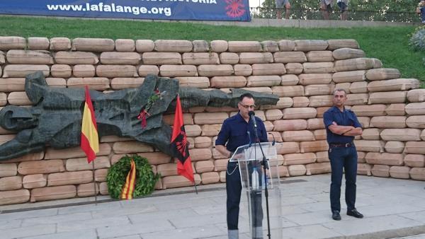 Espagne : 80eme anniversaire de la défense du Cuartel de la Montana