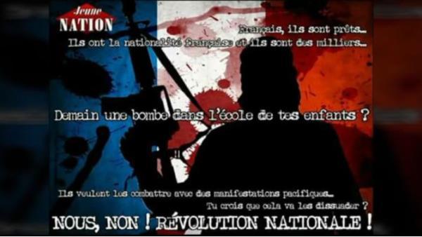 Face au terrorisme islamiste, rejoins les rangs du Parti Nationaliste Français