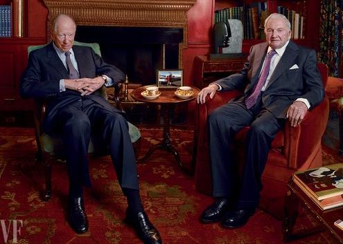 Le Contrôle de l'argent, Rothschild et Rockefeller
