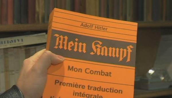 États-Unis : les profits de Mein Kampf iront aux survivants de la Shoah