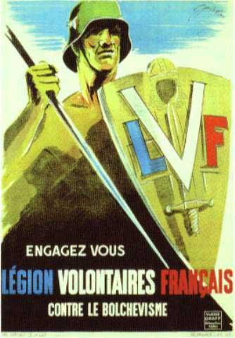 6 juillet 1941 : création de la Légion des Volontaires Français contre le bolchévisme