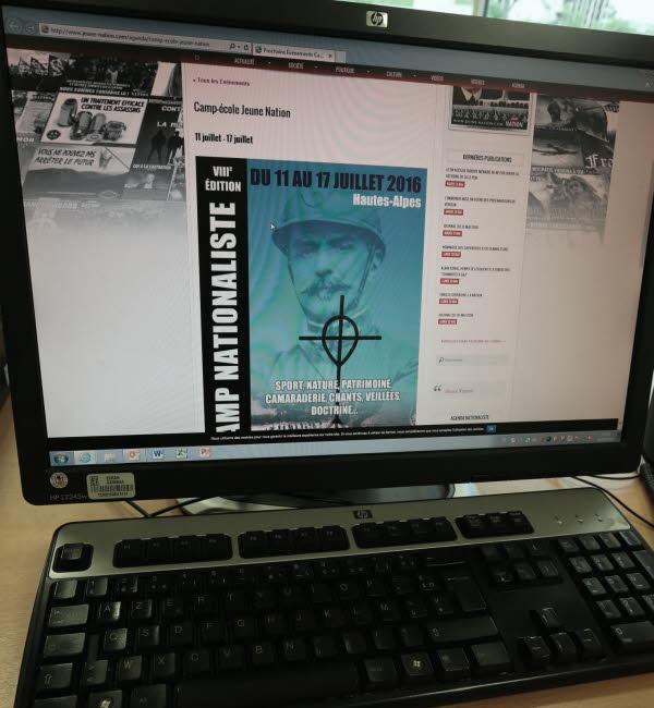 Interdiction du camp de Jeune Nation : communiqué d' Yvan Benedetti