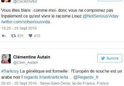 Les saillies racistes anti-blanc de Clémentine Autain et Cécile Duflot