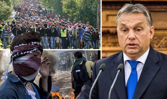 Hongrie : Orban contre l'invasion… mais islamique uniquement