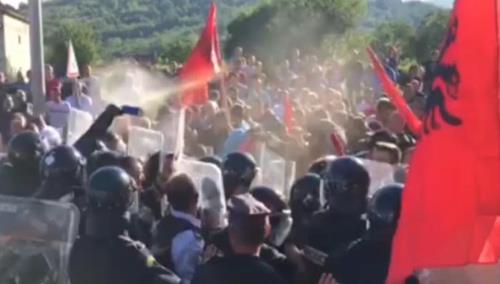 Kosovo : lourdes menaces des Albanais allogènes contre les Serbes autochtones