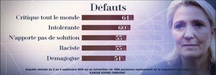 Dédiabolisation du FN : l'échec de la Le Pen