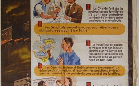 4 octobre 1941 : Promulgation de la Charte du Travail par le maréchal Pétain