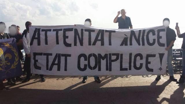 Compte rendu des manifestations du PNF à Nice en hommage aux victimes du 14 juillet