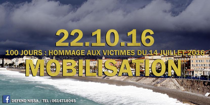 Manifestation nationaliste à Nice le 22 octobre 2016