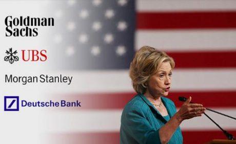 États-Unis : la bienveillance « secrète » d'Hillary Clinton pour les banksters de Wall Street