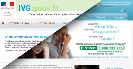« Notre » gouvernement d'occupation sioniste veut imposer un délit d'entrave numérique à l'IVG