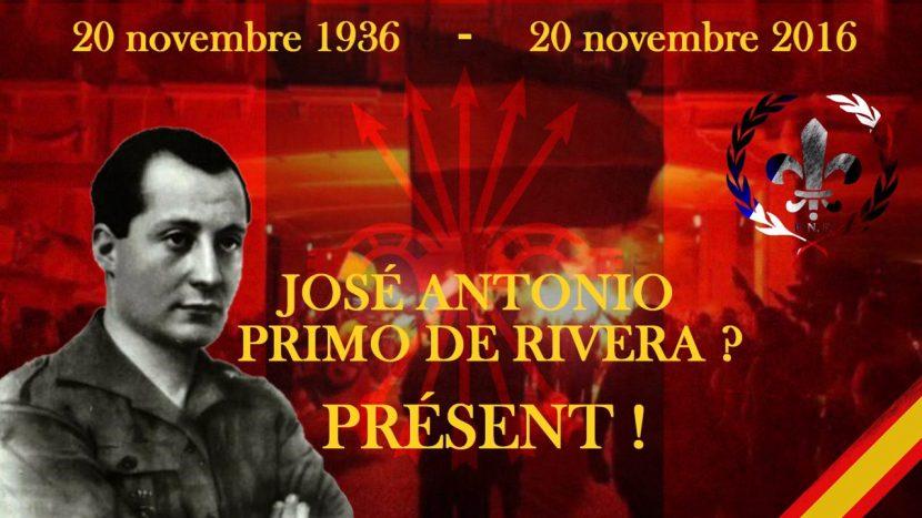 Madrid : Commémorations du 20 novembre – du 18 novembre au 21 novembre 2016