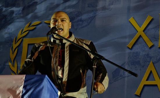 Grèce : tentative de meurtre contre Yorgos Germenis, député d'Aube Dorée (vidéo)