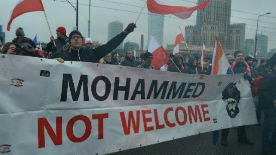 Pologne : la marche pour l'indépendance des nationalistes réunie une foule immense (photos et vidéo))