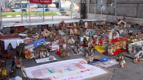 Espagne : la mairesse de Madrid interdit la crèche publique. Les Madrilènes s'insurgent