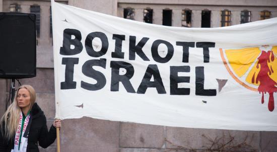 Europe : 200 juristes réclament le droit d'appeler au boycott d'Israël