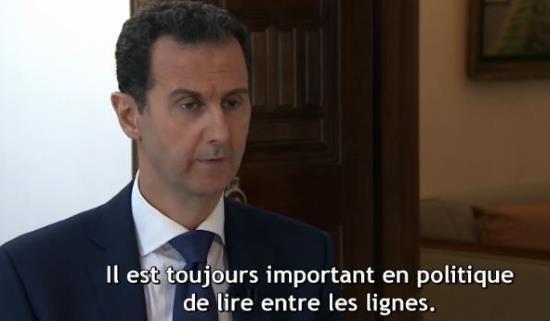 Syrie : « La trêve a pour but de sauver les terroristes » (vidéo)