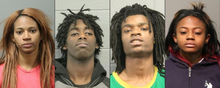États-Unis : 4 Noirs poursuivi pour un odieux crime raciste antiblanc à Chicago