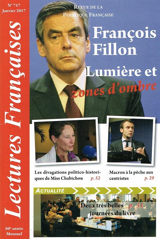Lectures Françaises N° 717 de janvier 2017