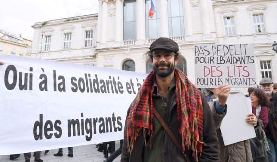 Nice : le traître pro-invasion Cédric Herrou doit être mis hors d'état de nuire !