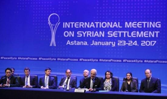 Syrie : accord sous l'égide russe, turque et iranienne et frappes contre Daech (vidéo)