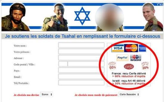 Scandale : financer Tsahal pour payer moins d'impôts en France !