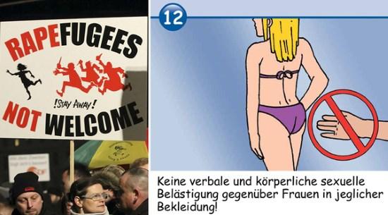 Allemagne : 2 envahisseurs agressent sexuellement des adolescentes dans une piscine
