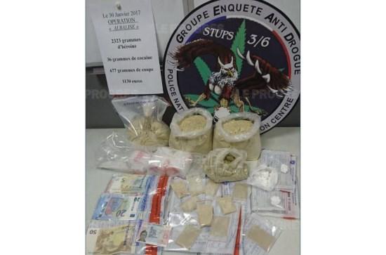 Lyon : à peine arrivé en France, l'Albanais tente d'écouler 2 kilos d'héroïne