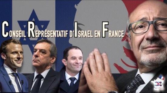 Diner du CRIF 2017 : toute la classe politico-médiatique renouvelle son allégeance au judaïsme politique