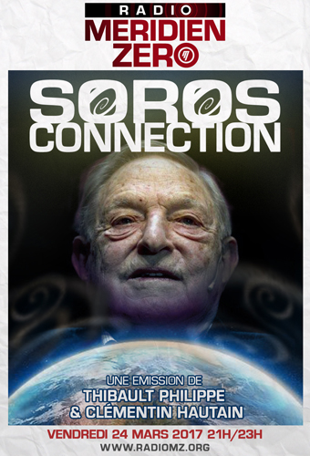 """Méridien Zéro – """"Soros connection"""" (audio)"""